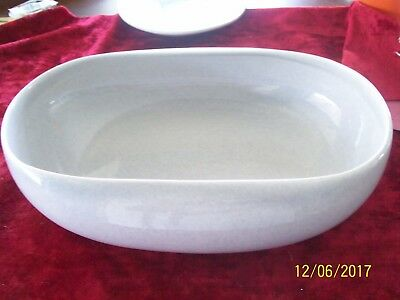 Mid Century Modern Russel Wright Steubenville Gray Serving Bowl
