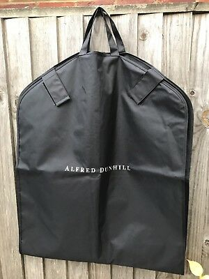ALFRED DUNHILL long garment bag /suit cover /coat protector polyester waterproof