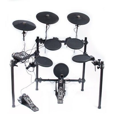 Electronic Drum Kit - 8-piece - 3 Cymbals - 20 Presets -  Fully Adjustable
