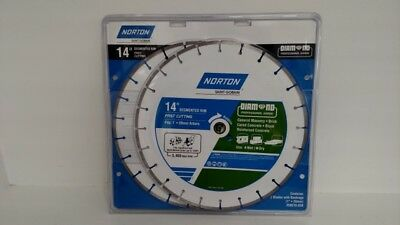 "Norton Tools: 14"" Segmented Rim FAST CUTTING Diamond Blade 2-Pack (LP3033465)"