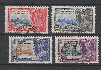 Bechuanaland 1935 Silver Jubilee Set fine used . SG 111-114
