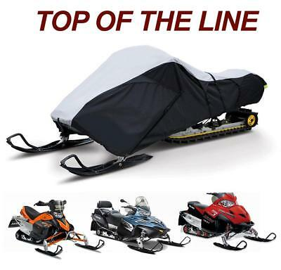 Trailerable Sled Snowmobile Cover Arctic Cat Jag 340 1998-1999
