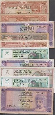 10 Banknotes from Oman