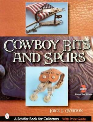 ID$ Book Cowboy Bits Spurs c1800-Up Western Sterling  +