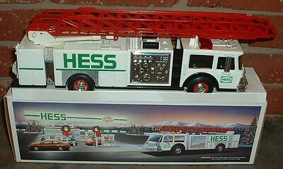 Hess Gasoline '89 Fire Engine Truck