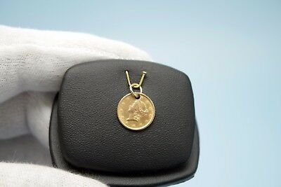 1853 $1 Dollar United States Gold Coin Liberty Gold Coin Jewelry Pendant