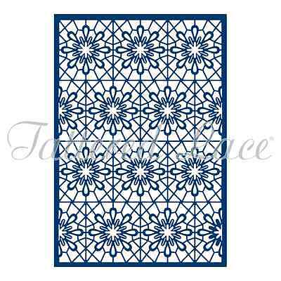 Tattered Lace Essential Floral Lace Background ETL77 Stephanie Weightman