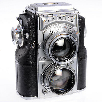 Zeiss Ikon Contaflex 860/24 - Rare Collectible 35mm TLR w 5cm F1.5 Lens