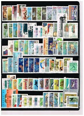 Canada  500   Stamps.  Lot #  4    (Used)