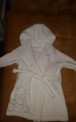 mother care 6-12 months humphries dressing gown unisex