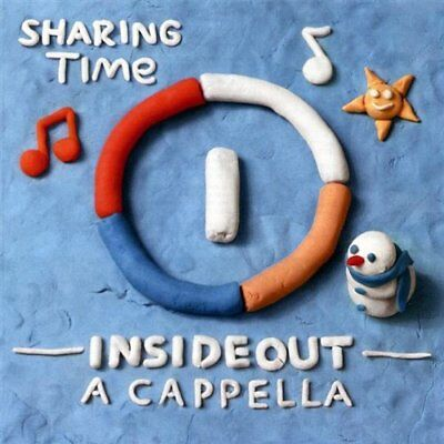 Insideout A Cappella - Sharing Time CD CDB NEW