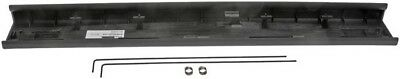 Black Tailgate Molding with Flexible Step fits Ford Dorman 924-573