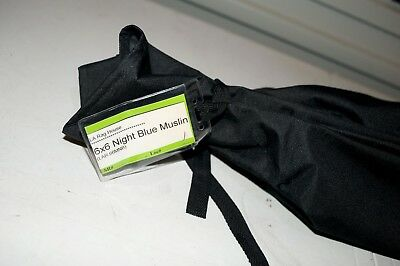 LA RAGS - Blue Night Muslin - 6x6 - Film Gear - Fabrics - BARGAIN