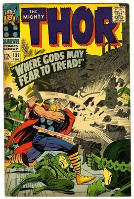 Thor #132 (1966) F/VF New Original Owner Marvel Comics Collection