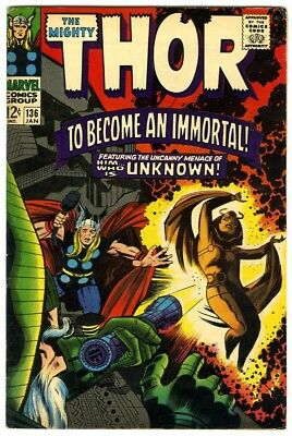 Thor #136 (1967) F/VF New Original Owner Marvel Comics Collection