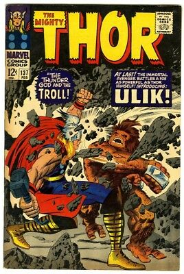 Thor #137 (1967) F/VF New Original Owner Marvel Comics Collection
