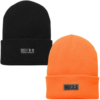 new style d7059 c6aeb Under Armour UA Truck Stop Knitted Winter Warm Beanie Hat - One Size