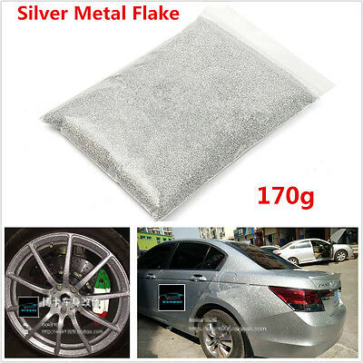 "170g 0.4mm/0.016"" PET Silver Car Body Metal Flake For Auto Car Paint Additives"