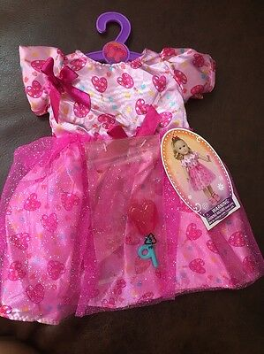 """My Life 18"""" Doll Clothes Fits American Girl Heart Dress OUTFIT"""