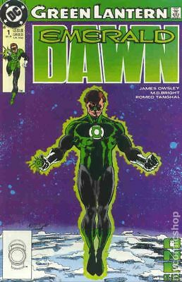 Green Lantern Emerald Dawn I #1 1989 VF Stock Image