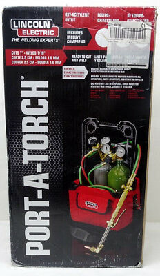 Lincoln Electric Port-A-Torch Oxy-Acetylene Outfit AS IS 9/B16014B