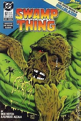 Swamp Thing (2nd Series) #67 1987 FN 6.0 Stock Image