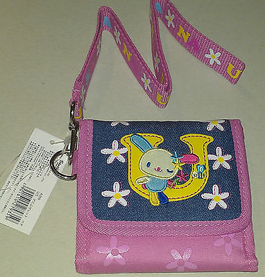 Authentic Sanrio USAHANA  Wallet and Lanyard Set NWT 2003 PRETTY!!