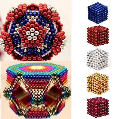 216 3/5mm Magic Magnet Magnetic DIY Balls Sphere Neodymium Cube Luxury Beads AU