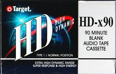 TARGET HD-x90 NORMAL POSITION TYPE I BLANK AUDIO CASSETTE - AUS