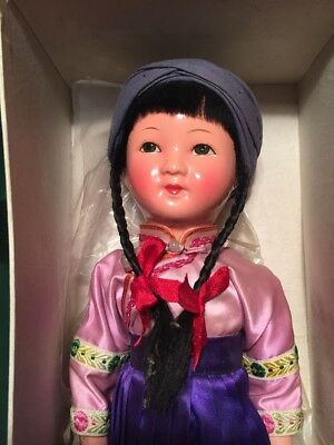 ~ Gorgeous!! Antique/Vintage Chinese National Character Doll In Box ~