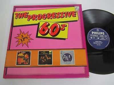 VARIOUS ARTISTS/THE PROGRESSIVE 60´S  3xLP PHILIPS 6685 106 BOX SET
