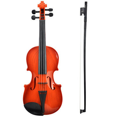 Electric Kids Violin & Bow Childrens Musical String Instrument Toy for Practice