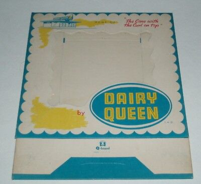 1950's Dairy Queen Ice Cream Takeout box - unused