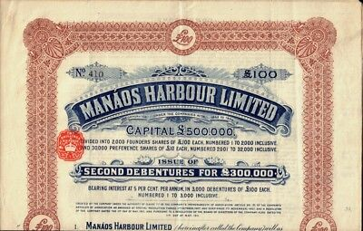 BRAZIL : Manaos Harbour Limited dd 1911