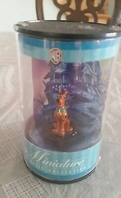 Scooby Doo Warner Bros. Miniature Classic Collection 1999 New