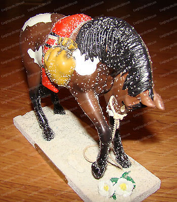 TRAIL OF TEARS (Trail Painted Ponies by Enesco, 4030257) 1E/1,203 Cherokee Rose