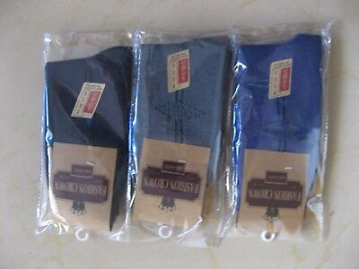 24 Pairs Cotton Man's Socks 26-28cm Mixed Colour