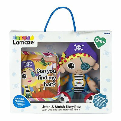 LC27175 Lamaze Listen n Match Horace Storytime Book Set Baby Babies Infant 0m+