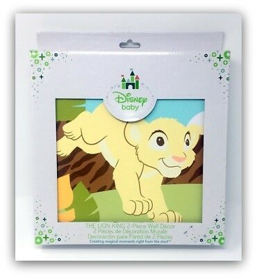"Disney Baby ""The Lion King"" 2 Piece Canvas Wall Décor, 50% Off!!!"