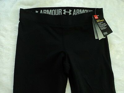 Under Armour Women's ColdGear Infrared compression Leggings Pants, Black, L, NWT