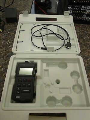 Orion  Model 135 Conductivity Meter Kit w/ Case Power Supply & Cables Works
