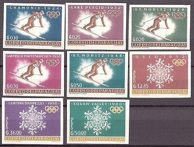 Paraguay MiNr. 1200-07 postfrisch/ MNH Olympiade (Oly1008