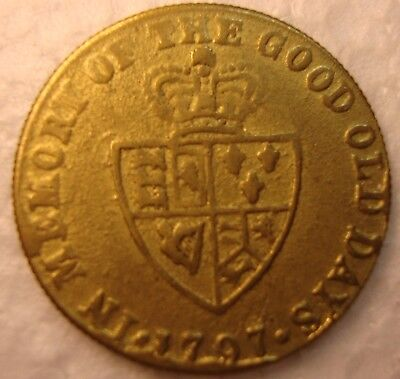 Coin  Metal Detector Find ..1797