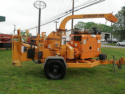 Nice 2005 Woodchuck 1200G Hyroller 12Inch Chipper Only 1852 Hours