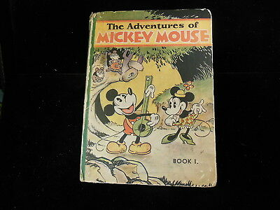 The Adventures Of Mickey Mouse  1931  Book 1  Walt Disney Productions