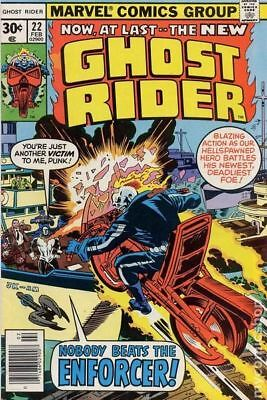 Ghost Rider (1st Series) #22 1977 FN- 5.5 Stock Image Low Grade