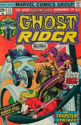 Ghost Rider (1st Series) #13 1975 VG+ 4.5 Stock Image Low Grade