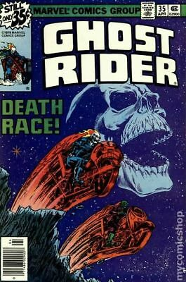 Ghost Rider (1st Series) #35 1979 FN- 5.5 Stock Image Low Grade