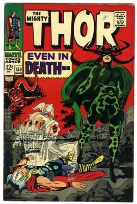 Thor #150 (1968) Fine+ New Original Owner Marvel Comics Collection