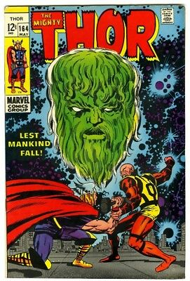 Thor #164 (1969) F/VF New Original Owner Marvel Comics Collection